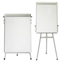 Light Magnetic White Filp Chart Easel for School