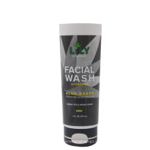 Tubo de lavado facial de 50 mm de diámetro para hombres con nuevo estilo de tapa con tapa abatible
