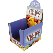 Cardboard Display for Food, Paper Display Stand