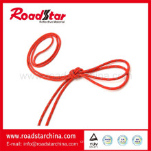Bright Color Polyester reflective Lanyard