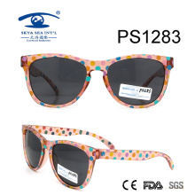 Colorful DOT Cute Kid Plastic Sunglasses (PS1283)