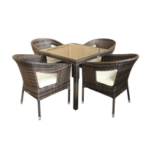 Aluminum Wicker Rattan Outdoor Dining Chair Furniture