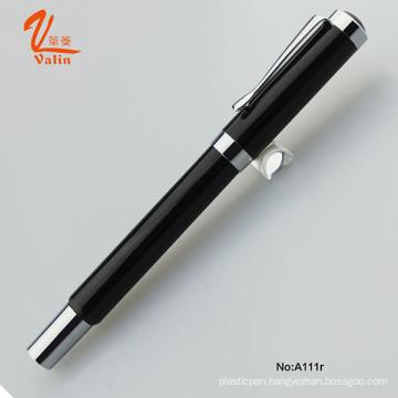 High-End Wholesale Engarve Metal Pen Black Roller Pen for Business