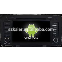 Reprodutor de DVD do carro do sistema de Android para a GRANDE PAREDE H6 com GPS, Bluetooth, 3G, iPod, jogos, zona dupla, controle de volante