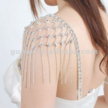wedding bridal rhinestone bra strap ( GBRD0146)