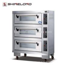 K335 3 capas movibles automáticas de alimentos horno de la máquina eléctrica horno