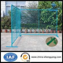 Vente chaude canada standerd utilisé clôture extérieure de la porte