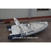 quente RIB600 barco, barco de fibra de vidro com ce