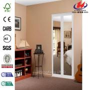 Mir-Mel espelho MDF Interior Bi-fold porta do armário