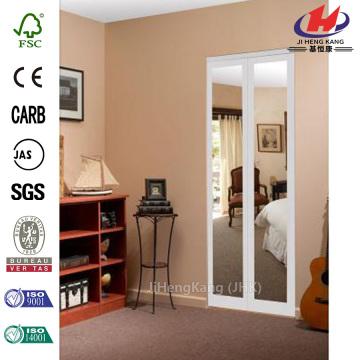 Mir-Mel Mirror MDF Interior Closet Bi-fold Door