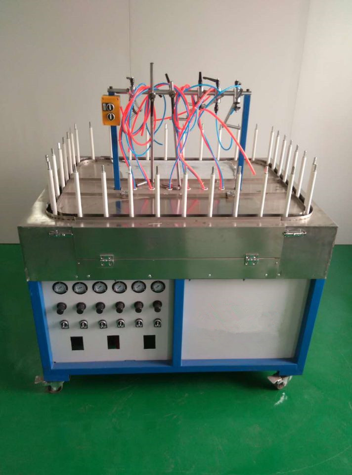 mini auto spraying line