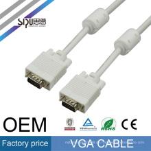 SIPU 5/10 FT Blau 15PIN VGA / SVGA D-Sub Stecker auf Stecker Kabel Monitor M / M Neu Für PC TV