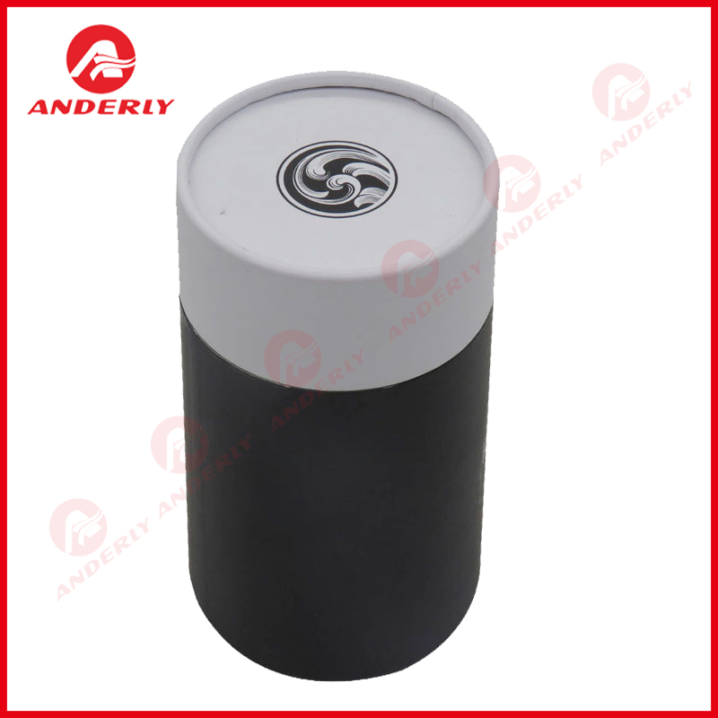Cylindrical Perfume Paper Tube Packaging Customized Printing