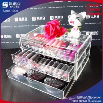 China Manufactory Offer Acrylic Makeup Organizer Display