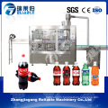 Automatic Bottle Carbonated Soft Drink Filling Plant Machine