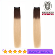 Muti Omber Color Knot Thread Hair Extension 100% Brazilian Virgin Remy Human Hair