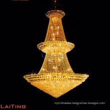 Arabic indoor lighting gold crystal chandelier pendant lights 6067
