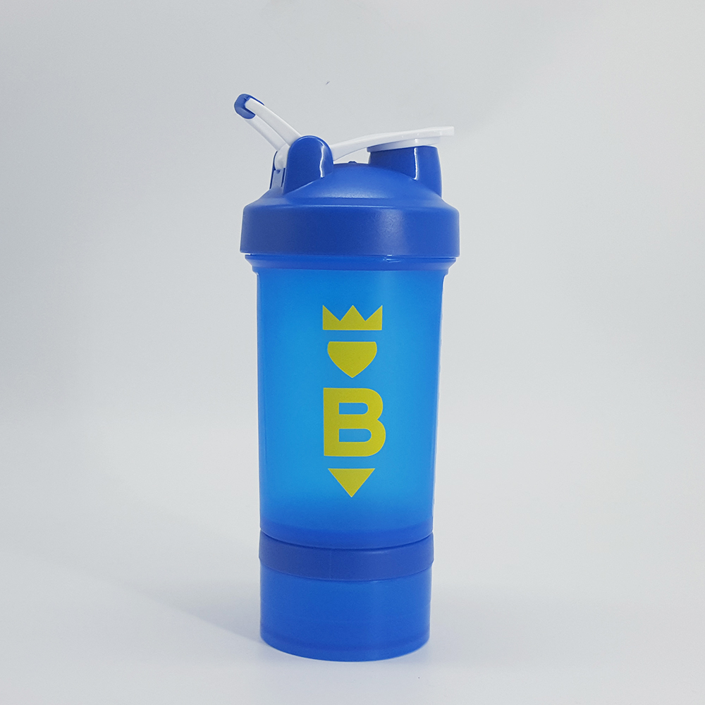 450ml Blue Protein Shaker with storage 150cc Jar