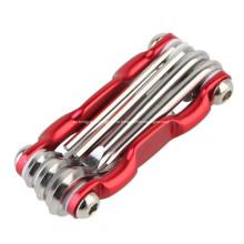 Многофункциональный инструмент для ремонта кармана велосипеда с отвёрткой