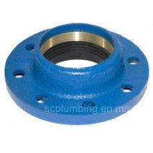 Accouplement rapide d'adaptateur de bride pour le tuyau de PE et de PVC