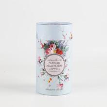 Caja de empaquetado de papel de tubo de perfume Kraft personalizada