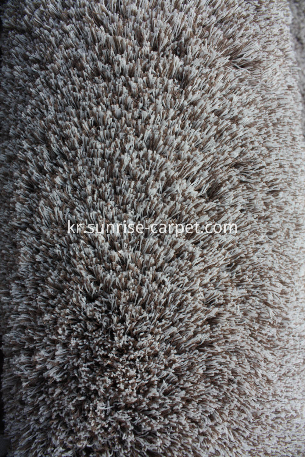 Microfiber Thin Yarn Solid Color Rug