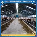 Structure en acier à faible coût Maison à la ferme en béton préfabriquée Cabane agricole à la chèvre