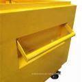 Mobiler wasserdichter Metall-LKW-Werkzeugkasten mit Rädern