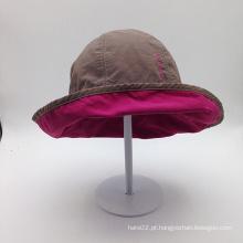 Letra de bordado de crianças de alta qualidade Capa de balde casual de moda (ACEK0120)