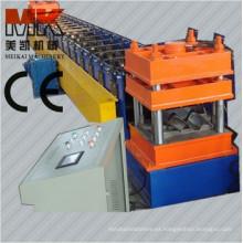 Pasó la máquina formadora de rollos de barandilla de control automático de carretera CE y ISO