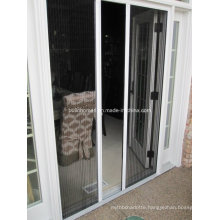 External French Door Retractable Flyscreen