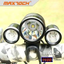 Maxtoch номер BI6X-2 4*18650 Аккумулятор 3*КРИ XML T6 светодиодный велосипед свет комментарий
