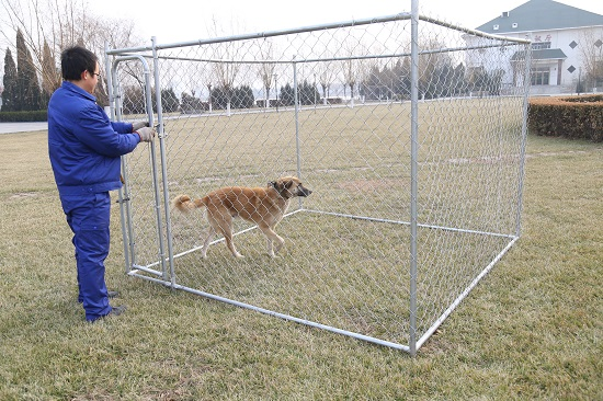 The Metal Dog Kennel