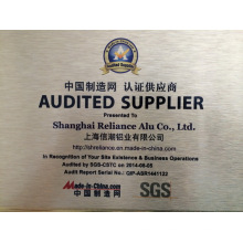 Reliance Aluminium Audited Lieferant mehr als fünf Jahre