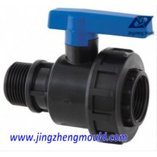 Moulage / moulage de tuyau de valve de boule de pp