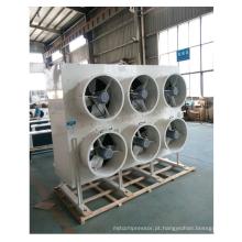 Evaporativo industrial / ventilador portátil do refrigerador de ar para a água