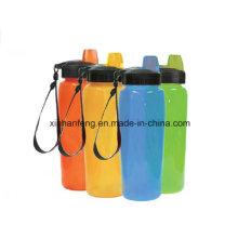 Botella de agua de la bicicleta de los deportes (HBT-024)