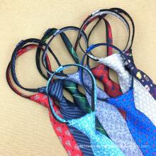 Flaco uniformes escolares ajustable fiesta cremallera hecha a mano lazo de seda