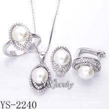 Фабрика сразу продает ювелирные изделия перлы установили серебр 925 (YS-2240)