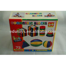 Plastic Educational Preschool Toys - Geometric Blocks