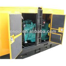 60hz démarrage électrique 100kva / 80kw diesel diesel silencieux avec moteur Dongfeng Cummins