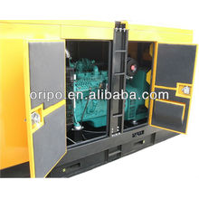 60hz electric start 100kva/80kw silent diesel genset with Dongfeng Cummins engine