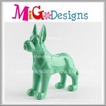 True to Life Ceramic Dog Souvenir Piggy Banks