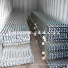 Precio de chapa de techo de zinc, chapas de metal corrugado