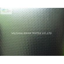 250D tecido de malha de PVC Material encerado para dossel / toldo