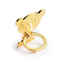 Top sale New product custom cartoon logo metal mobile phone ring holder