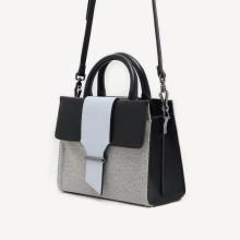 Multi-layer woven style handbag