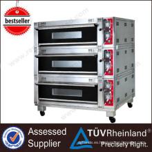 El mini horno industrial profesional del acero inoxidable K168 hornea el mini horno eléctrico para el pan
