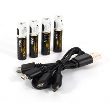 Bateria AAA com carregador