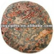 leopard skin Worry stone thumb